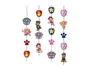 Cortina de decoração de Festa Patrulha Canina