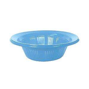 Cumbuca Descartável 12 cm Azul Bebê Pct com 10 unid.