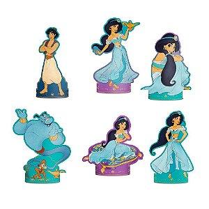 Decoração de Mesa do Aladdin kit com 6 unid