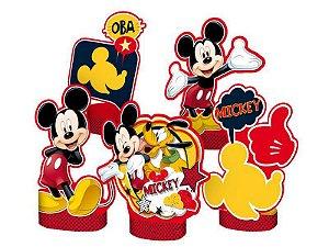 Decoração de Mesa do Mickey kit com 5 unid