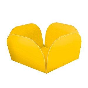Embalagens para Doces Descartáveis Médio Amarela Pct com 50 unid