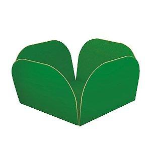 Embalagens para Doces Descartáveis Médio Verde Escura Pct com 50 unid