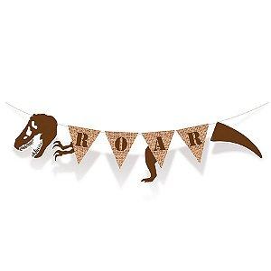 Faixa Decorativa Aniversário Festa Dinossauro