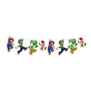 Faixa Decorativa Tema Super Mario