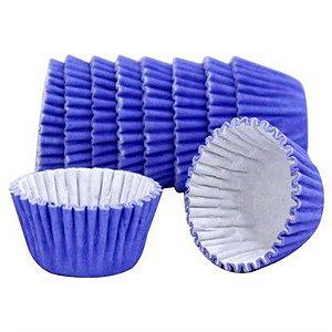 Forminhas para Doces de Papel N5 Azul Escura pct 100 unid