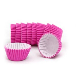 Forminhas para Doces de Papel N6 Pink pct 100 unid