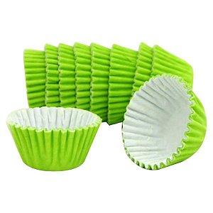 Forminhas para Doces de Papel N6 Verde Limão pct 100 unid