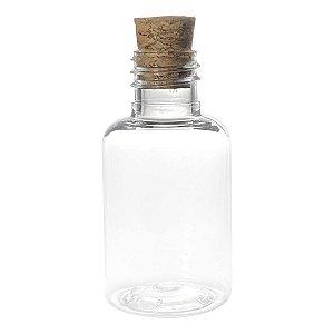 Garrafinhas para Lembrancinhas 30 ml Plástica com Rolha kit com 10 unid