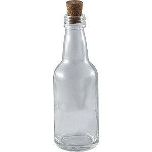 Garrafinhas para Lembrancinhas 50 ml de vidro com Rolha kit com 10 unid