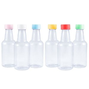 Garrafinhas para lembrancinhas PET de 50 ml Plástica kit com 10 unid