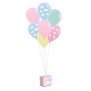 Kit de Balões para Decoração de Festa tema Pedacinho do Céu