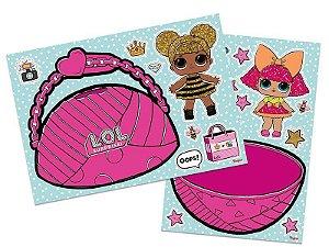 Kit de Cartazes para Decoração da Boneca LOL