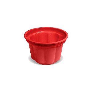 Pote de Sobremesa 120 ml Vermelho