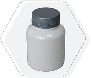 Pote Plastico para cápsula 180 ml Rosca Lacre kit com 10 unid