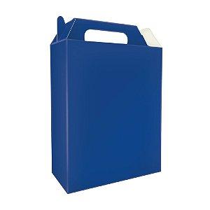 Sacolinha Surpresa de Caixinha Azul Escuro pct com 8 Unid