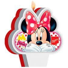 Vela de Aniversário da Minnie