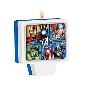 Vela de Aniversário dos Avengers