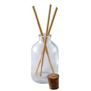 Vidro para Aromatizador com Rolha 30 ml kit com 10 unid