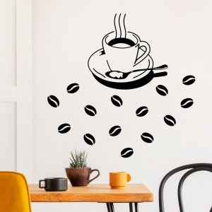 Adesivo Decorativo Café