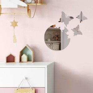 Espelho Decorativo Borboletas Nest