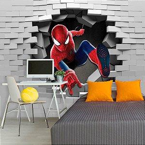 Papel de Parede Personalizado Heróis Homem Aranha