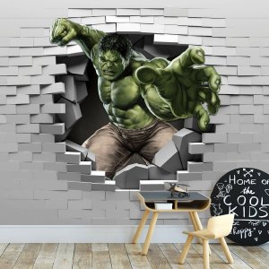 Papel de Parede Personalizado Hulk