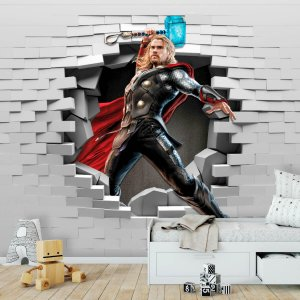 Papel de Parede Personalizado Thor