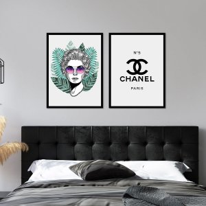 Quadros Chanel Gabrielle