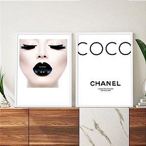 Quadros Chanel I Am Fashion