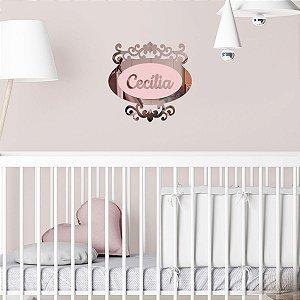 Porta Maternidade Espelhado Veneziano