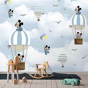 Papel de Parede Personalizado Mickey Mouse