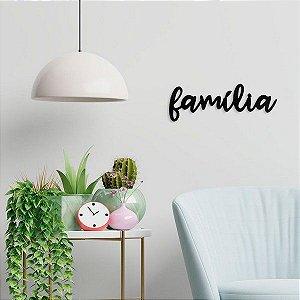 Palavra decorativa PROMOCIONAL - Família - Parede - ic4uym