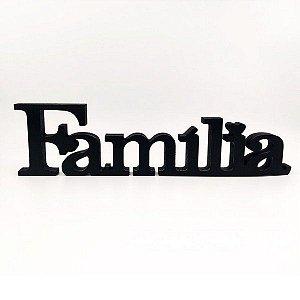 Palavra FAMILIA branca e LOVE seta (promoção) - Adriely - fk5mgf