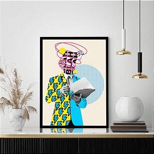 Quadro Decorativo Colors Men