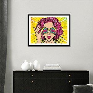 Quadro Decorativo Pop Art Wow