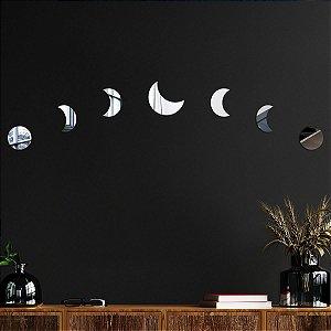 Espelho Decorativo Fases da Lua