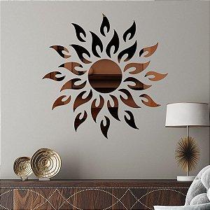 Espelho Decorativo Sol
