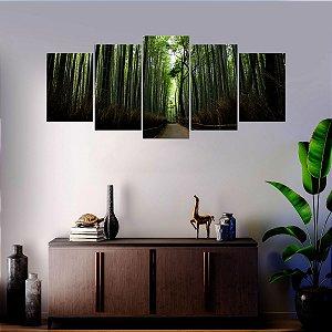 Quadro Mosaico Bambu