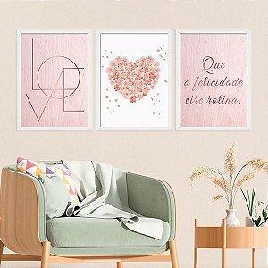 Kit 2 Placas decorativas Personalizadas - Venda Gui - mellopodologia - pnm9kz