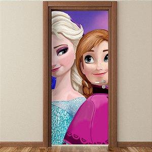 Adesivo Para Porta Frozen