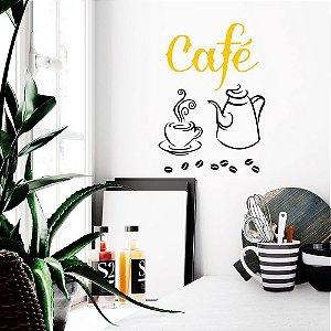 Adesivo Decorativo Cantinho Do Café