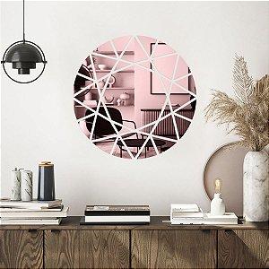 Espelho Decorativo Sol Geométrico