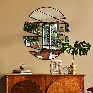 Espelho Oval Abstrato