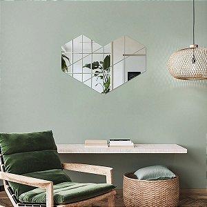 Espelho Decorativo Formas Geométricas