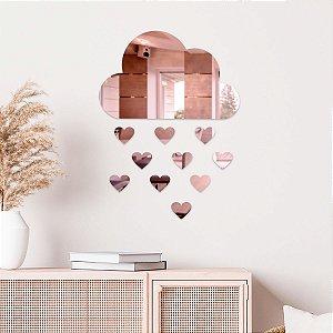 Espelho Decorativo Chuva De Amor