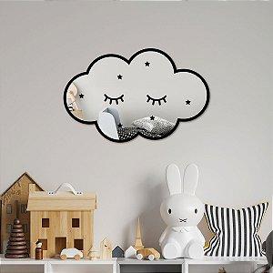 Nuvem Decorativa Espelhada