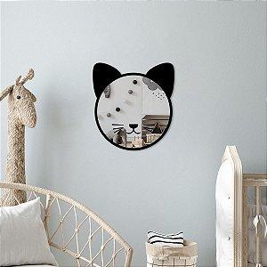 Gato Decorativo Espelhado