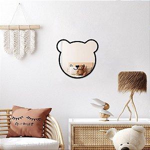 Ursinho Decorativo Espelhado