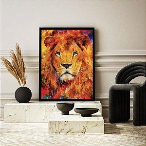 Quadro Decorativo O Rei Leão Colors