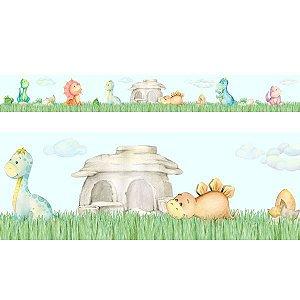 Faixa Decorativa Dinos Baby